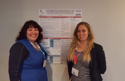 Roxanne Bolduc et A-J Lafrenaye-Dugas, First Conference, Ordre Professionnel des Sexologues du Québec 2016